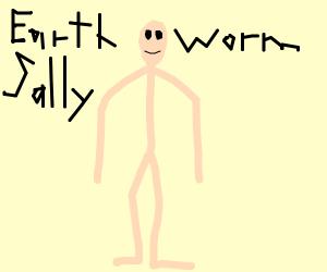 Earthworm Sally