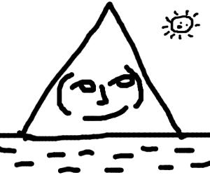Lenny face mountain