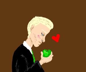 Draco Malfoy x apple