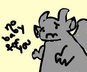 Gargoyle is infertile