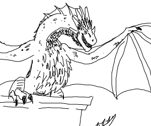 Khaleesi's dragon