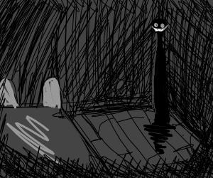 Sleep paralysis demon  - Drawception