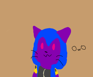 witch from Clash Royale (cat)