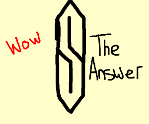 The cool s is the answer