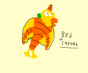 carrot bird