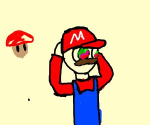 Mario's had too many shrooms