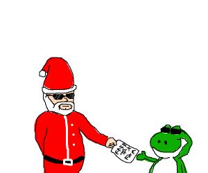 Yoshi wants TAX FRAUD for Christmas