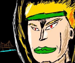 blond heart headband guy from jojo