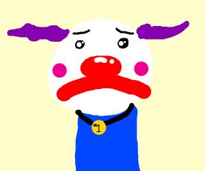 Clown wins an award