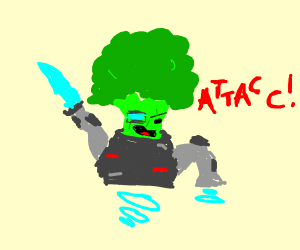 Broccoli from the Year 2500