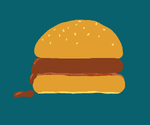 soft boiled hamburger