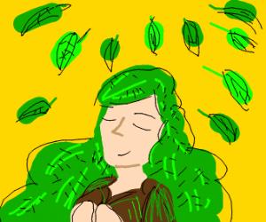 UwU leaf-san