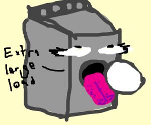 Anthropomorphic Washing Machine