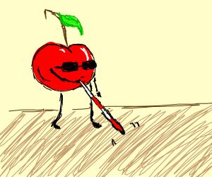 A Blind Cherry