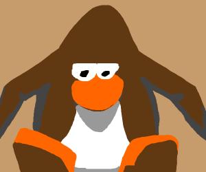 brown club penguin