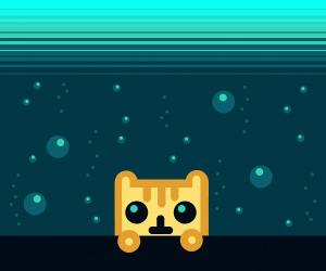 Cat Underwater