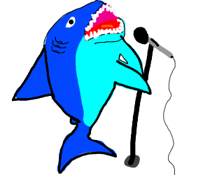 The most dangerous animal: Kareoke shark