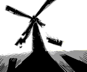 Broken Windmill