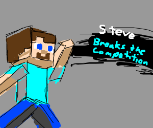 Steve (Minecraft) Joins The Smash!