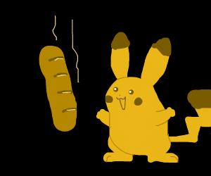 piku wants baguette