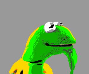 Kermit goes hmmmm