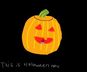 Carve a pumpkin for me!