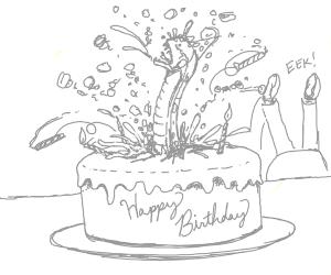 alien themed birthday