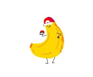 Pokemon trainer banana
