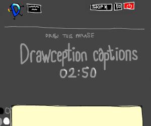 Drawception captions