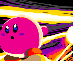 Kirby escapes death itself