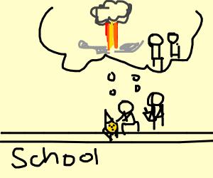 2 kids wants to nuke their school
