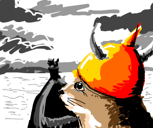 Squirrel Viking
