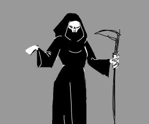 Female grim reaper
