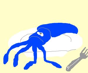 mm squid for dinner
