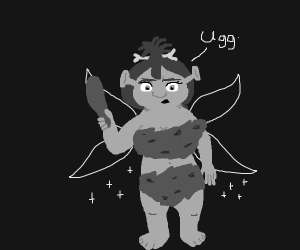 Fiona but as a Pixie Cavewoman