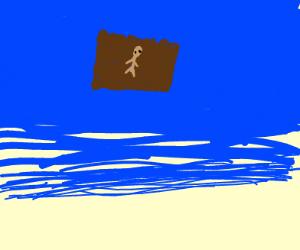 man boat