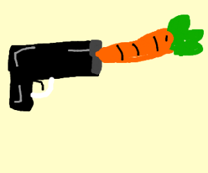 Shooting a Carrot out of a Gun