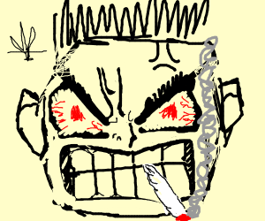 Smoking w33d makes you angry