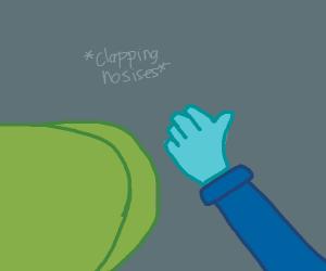 clapping alien ass