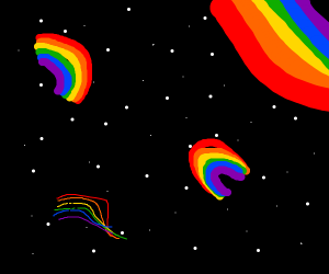 Rainbows In Space