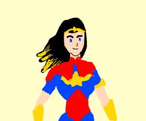 super captain woman