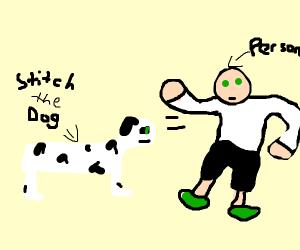 Stitch the shapeshifting dog
