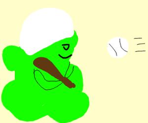 Globglogabgalab plays baseball