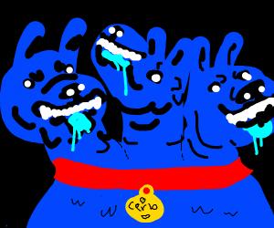 Cartoon Cerberus