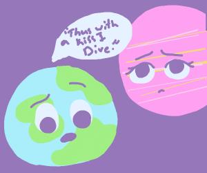 Earth&Mars perform mistranslated Shakespeare