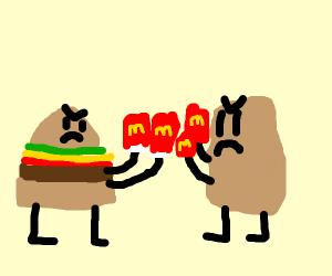 mcdonalds big mac vs mcnuggets