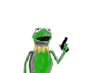 Kermit goes on a killing spree
