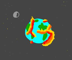 World gets destroyed