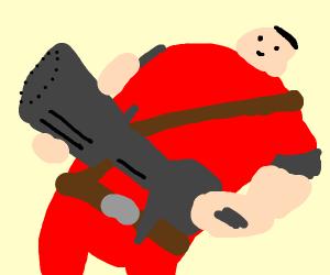 I am Heavy-weapons Guy.
