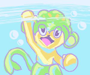 drowning pansage